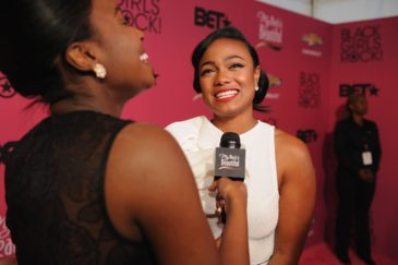 NEWARK, NJ - OCTOBER 26:  Tatyana Ali attends BET Black Girls Rock at My Black Is Beautiful Red Carpet at New Jersey Performing Arts Center on October 26, 2013 in Newark, New Jersey.  (Photo by Bryan Bedder/BET/Getty Images for BET)