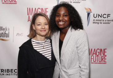 "is seen at the premiere of the ""Imagine a Future"" documentary presented by P&G's My Black is Beautiful, in partnership with UNCF, BLACK GIRLS ROCK! and Tribeca Film Institute on April 21, 2013, in New York City. (Brian Ach /AP Images for Procter & Gamble)"